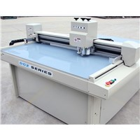 Solid Board Corrugated Paper Cardboard Box Cutting Machine with Oscillating Knife