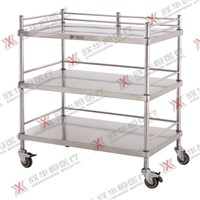 stainless steel apparatus trolley
