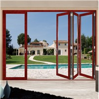 Commercial Aluminum Folding Door for interior
