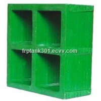 Frp grating board for tree protection
