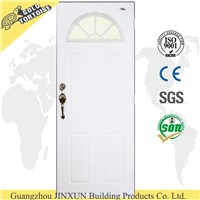 China supplier Steel Door With Sunburst Glass, French Door, exterior house door