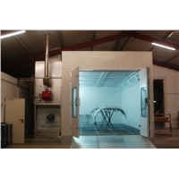 European PLC Control System Spray Paint Booth Painting Room