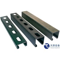 PV support bracket frame machine steel profile roll forming machine