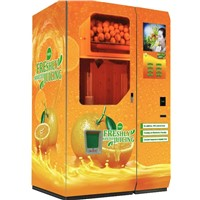 Fresh fruit juice vending machine