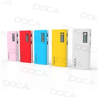 High capacity best custom 13000mah smart battery power bank with 2 USB output