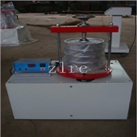 Mineral wool sieve shaker, vibrating machine