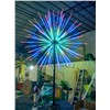 Height 6 meters outdoor led Christmas fireworks light flashing with controller