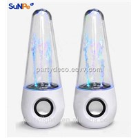 8W Multi-Colored Water Fountain Dancing Show Mini Portable Bluetooth Speaker