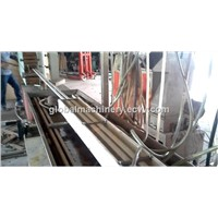 PVC lath profile extrusion machine/profile pipe machine