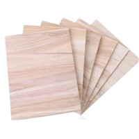 Low Price Paulownia wood breaking boards Taekwondo kicking boards