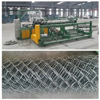 Vinyl Coated Chain Link fence machine