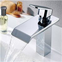 Hot Sells Elegance and fashion Waterfall brass basin faucet