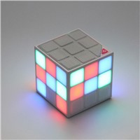 Magic Cube Bluetooth Speaker with LED Light