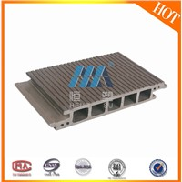 WPC Plastic Flooring Type and Outdoor Usage swimming pool Composite Decking