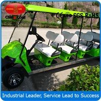 golf cart with 10 person