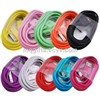 Colorful  smart phone USB charging cables