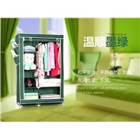 Big size multi layer with high foot non-woven fabric portable closet