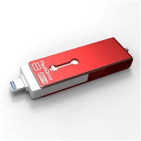 3 in 1 OTG USB Flash Drive Memory Pendrive 8GB 16GB 32GB 64GBfor iPhone 5 6 Samsung PC