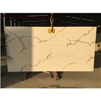 BST Calacatta Gold Corian Stone Slab for Pre-Fabricated Tops