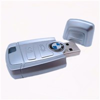 Bmw Metal Car Key Shape USB Memory Flash Drive 1GB 2GB 4GB 8GB 16GB 32GB 64GB