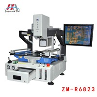 Full automatic laser bga  rework station soldering station with optical alignment ZM-R6823
