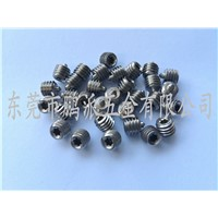 Non-standard stainless steel anti-theft Phillips Set screw M6*7