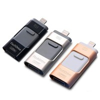USB 3.0 Memory Stick OTG Disk for iPhone 6 5 Android PC OTG Flash Drive Pendrive Micro USB Stick