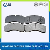 Padstar Auto Parts Heavy Duty Truck Bus Brake Pads E-MARK Certification Disc Brake Pad WVA29246
