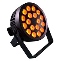 Pro Flat LED Par Light with Powercon In/out and 5pin XLR DMX controlled