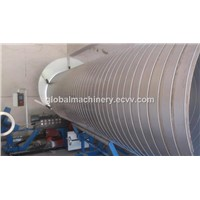 Spiral metal Tube Forming Machine
