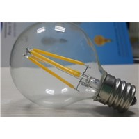 2200k 12v 24v 110-120V 220-240V  G16.5 Globe E17 LED filament bulb Dimmable