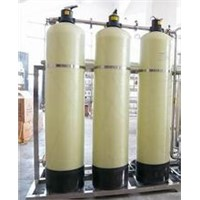 FRP storage tank for  water treatment plant