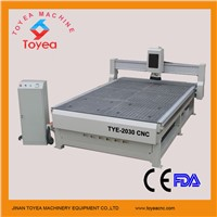 Vacuum table professional cnc woodworking machine with helical gear driving TYE-2030