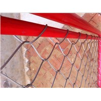 knitted woven stainless steel cable wire netting fence