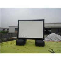 portable theater inflatable movie screen for backyard