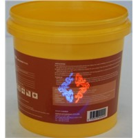 Fluorescent anti fake heat transfer printing film