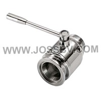 Sanitary Stainless Steel Ball Valve Male/Clamp