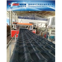plastic roofing sheet making machine