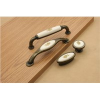 Bronze Ceramics Cabinet Handle, Furniture Pulls Handles, Drawer Pulls Hardware