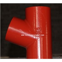 SML EN877 Cast Iron Pipe Fittings Branch