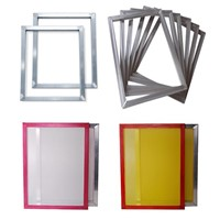 Silk Screen Frame with Mesh