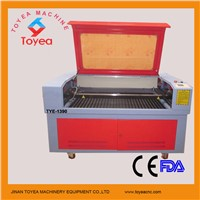 1390 Leather Laser Cutting machine with RECI laser tube TYE-1390