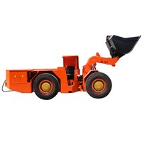 China made articulate wheel hydraulic drive underground electric coal mining loader and lhd