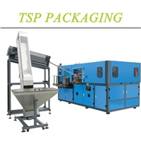 TSP transparent drink bottle fully automatic small blow moulding machine TSP-A2 (0.2-2L)