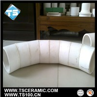 92 96  Alumina(Al2O3)Bend Pipe for Mining Industry,China Manufacturer