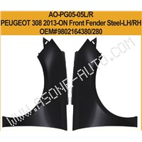 AsOne Front Fender For Peugeot 308 Metal Stamping Parts