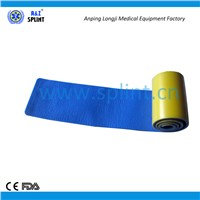 Military medical portable 36 inch rolled splint