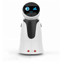 Smart Walking Talking Robot with Sensors Tablet with Mini Camera Wifi Bluetooth Supported for Home