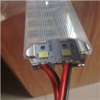 New product for 2016 144pcs * SMD 5050 LED Rigid Strip 12V Double Row LED Bar Light Cool White