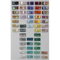 Rainbow glass mosaic
